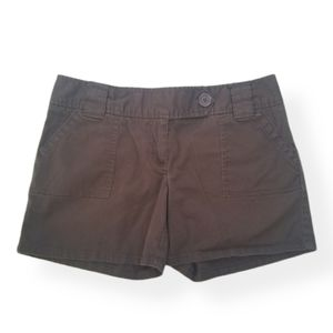 The Limited Drew Fit Shorts Brown Size 8 EUC